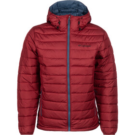 Columbia Powder Lite Hooded Jacket Herren red jasper